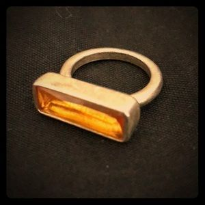Jewelry - Yellow gold citrine ring size 5